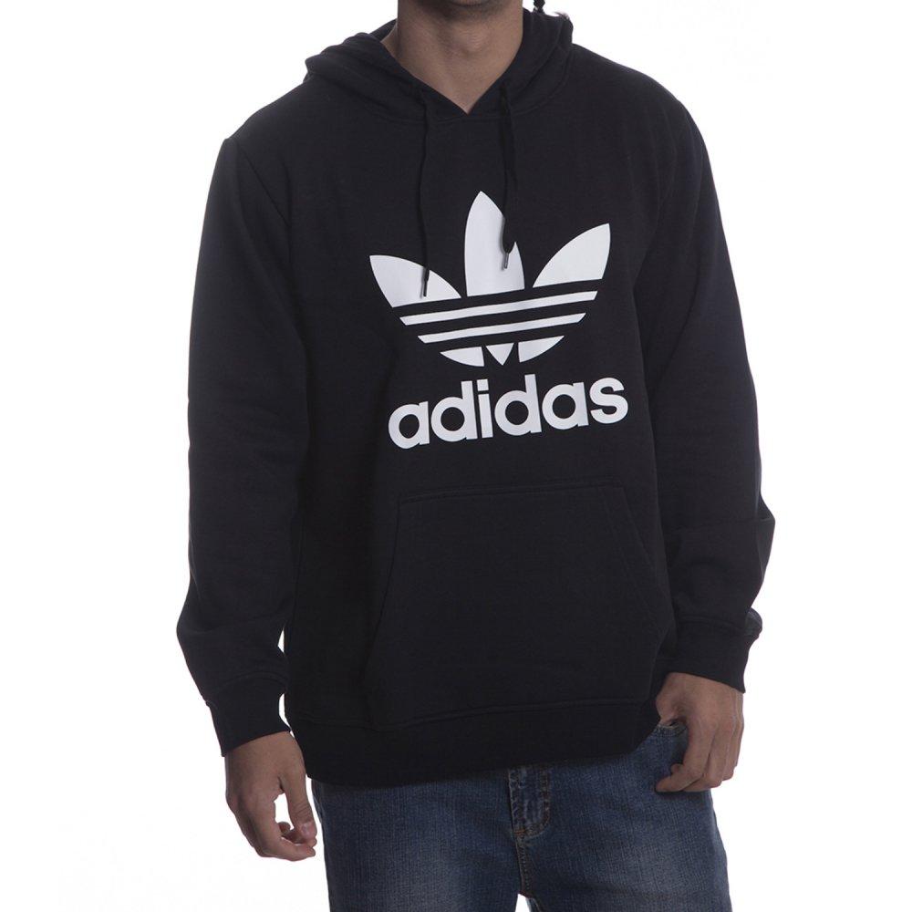 1487bac34f13b Sudadera Adidas Originals  ADI Trefoil HO BK ...