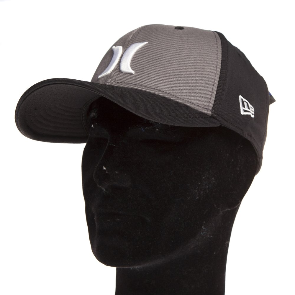 Hurley Cap  One   Only New Era BK GR ... 035b06ad994
