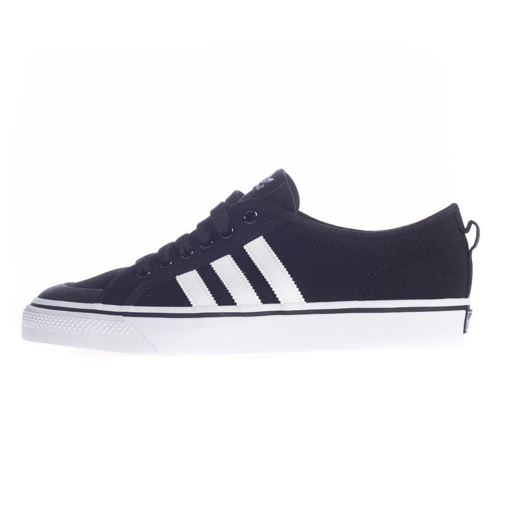 sale retailer e50c8 09390 Adidas Originals Shoes Nizza LO BK ...
