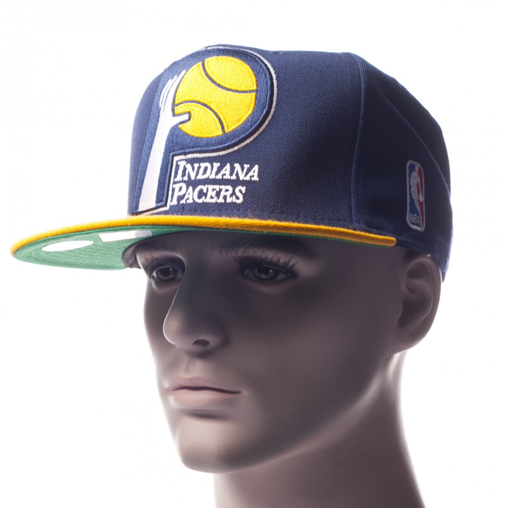 b65d657d3 Mitchell & Ness Cap: NJ16Z Indiana Pacers BL   Buy Online   Fillow ...