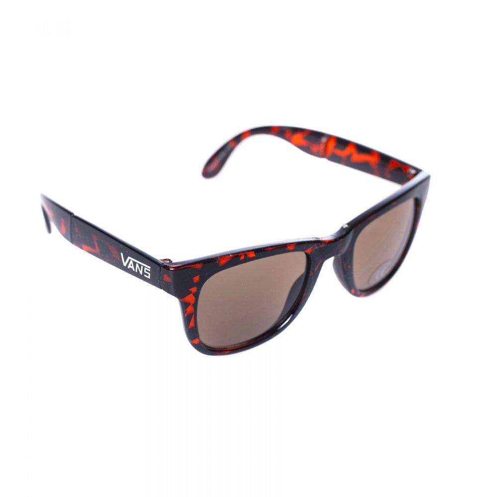 20c8df6c9 Vans Sunglasses: Foldable Spicoli Tortoise Gloss BR | Buy Online ...