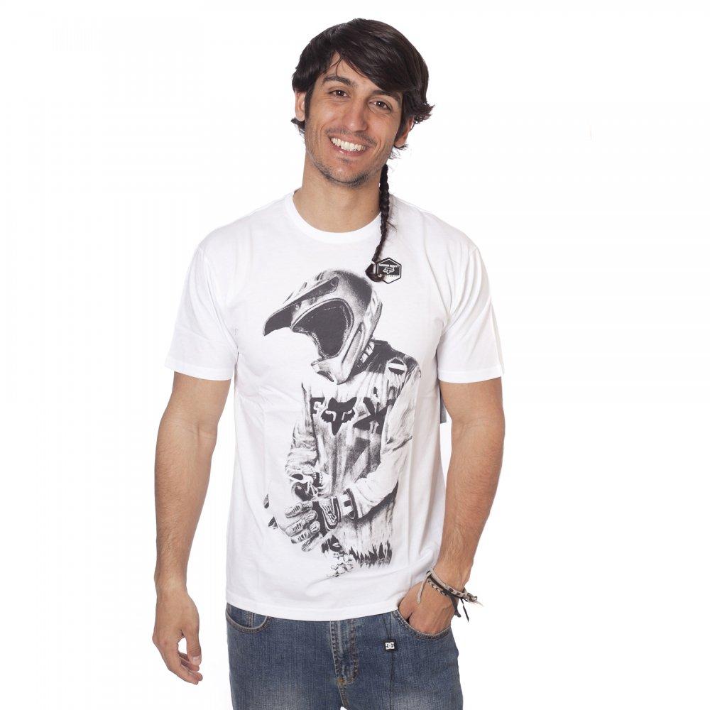 ... Fox Racing T-shirt  Death By Momentum WH ... 768cef25d0c