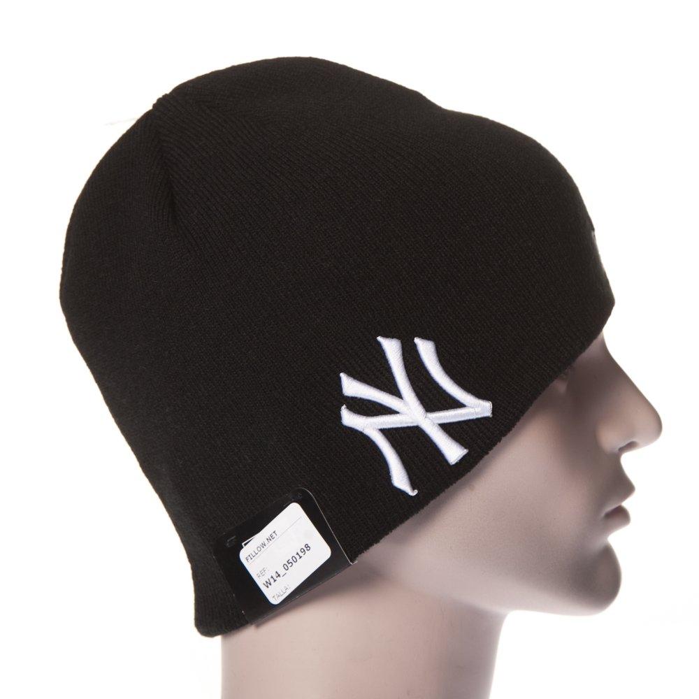 db834fe7aa6 ... New Era Beanie  Seasonal Skull NY Yankees BK ...