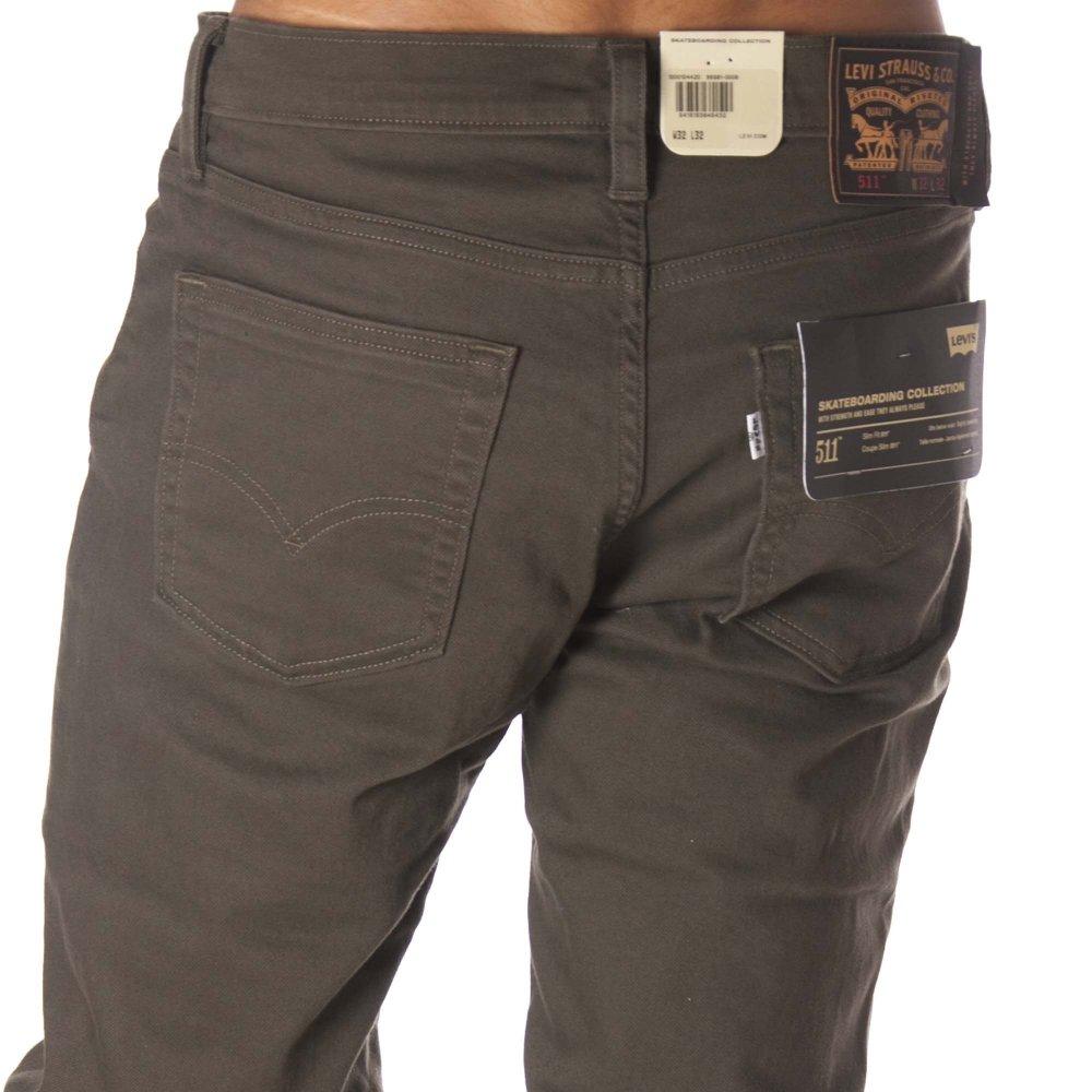 Levi S Pants Skate 511 Slim 5 Pocket Se Forest Br Buy Online Fillow Skate Shop