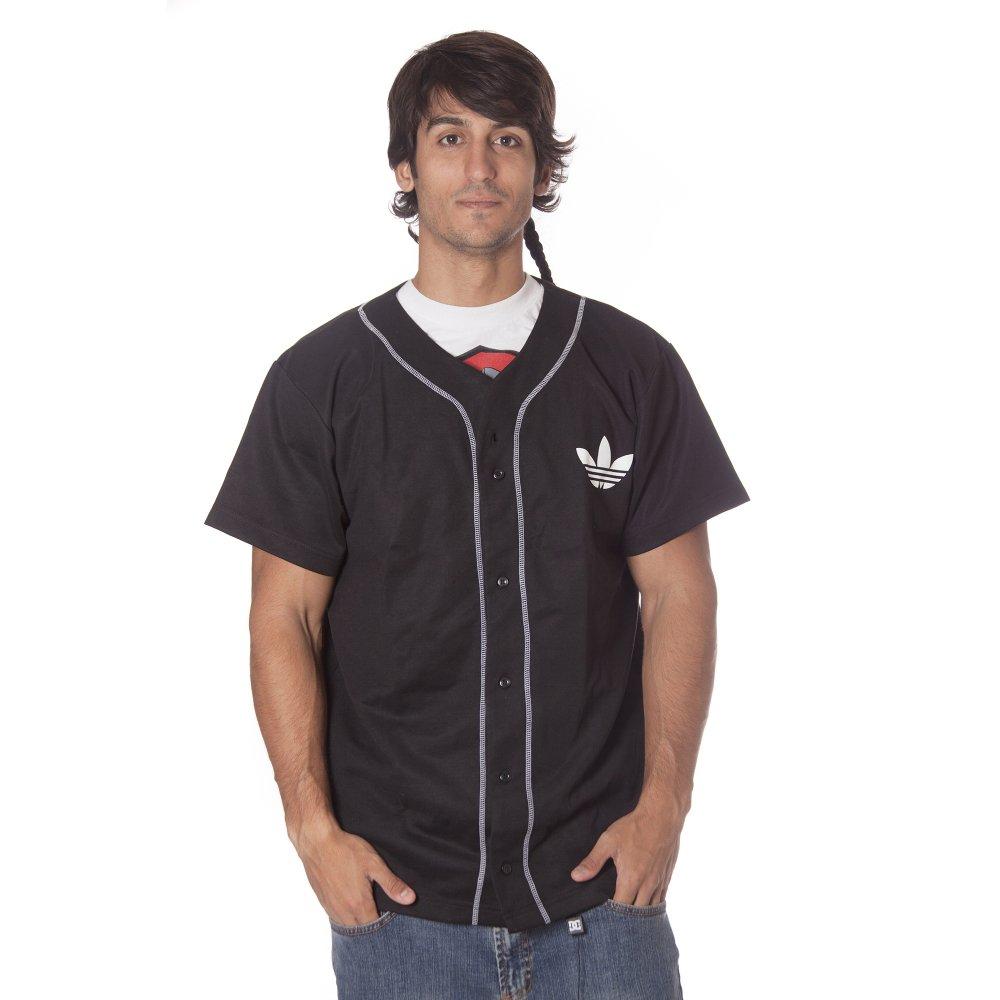 60569535af6c1 ... adidas originals Shirt  NBA Brooklyn Nets Base BK ...
