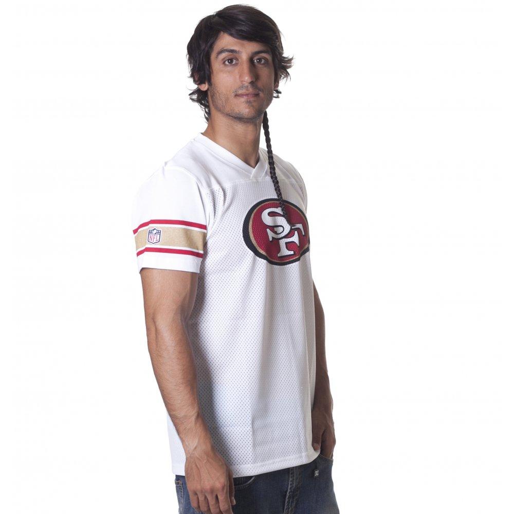 73b65c5f45 ... New Era T-Shirt  NFL Supporters Replica San Francisco 49ers WH ...