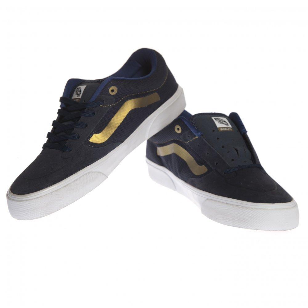 3bade75f5ab851 ... Vans Shoes  Rowley Pro Lite Navy Gold NV. ‹