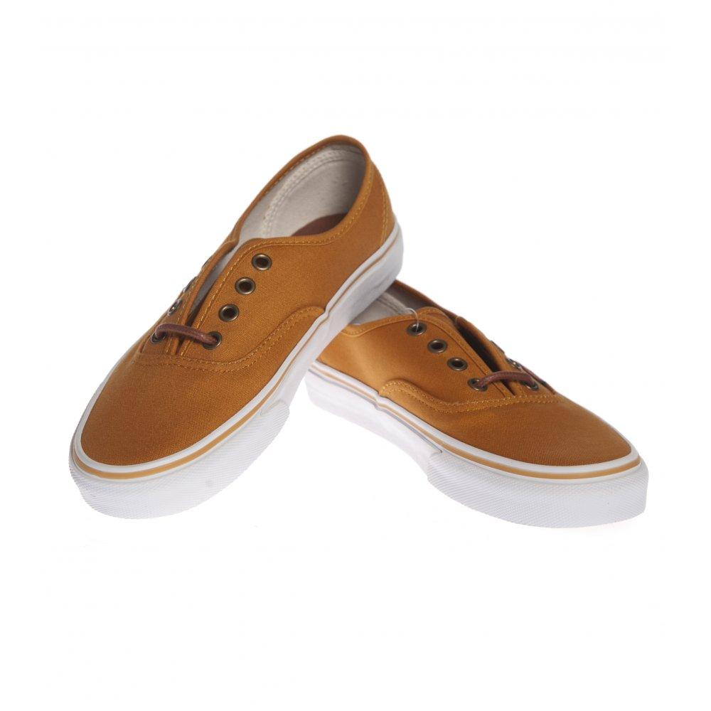 edbf217346 ... Vans Shoes  Authentic Inca Gold Tortoise Shell YL. ‹