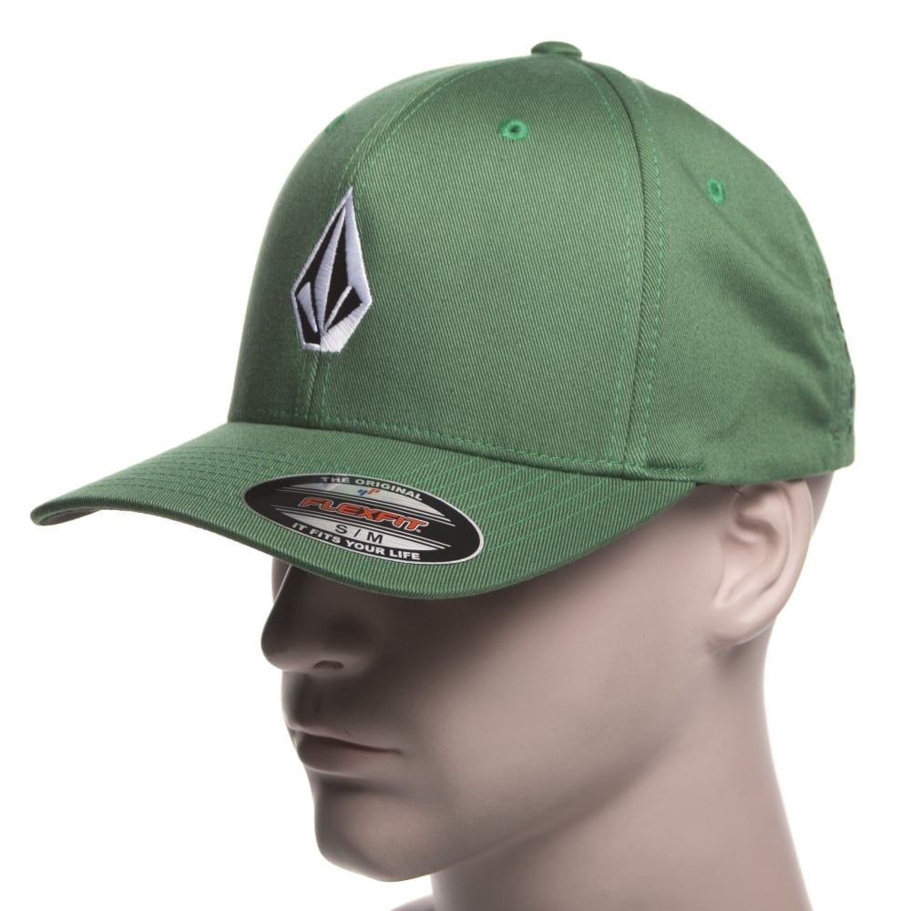Volcom Cap  Full Stone XFIT Forest GN ... 292a3967aac