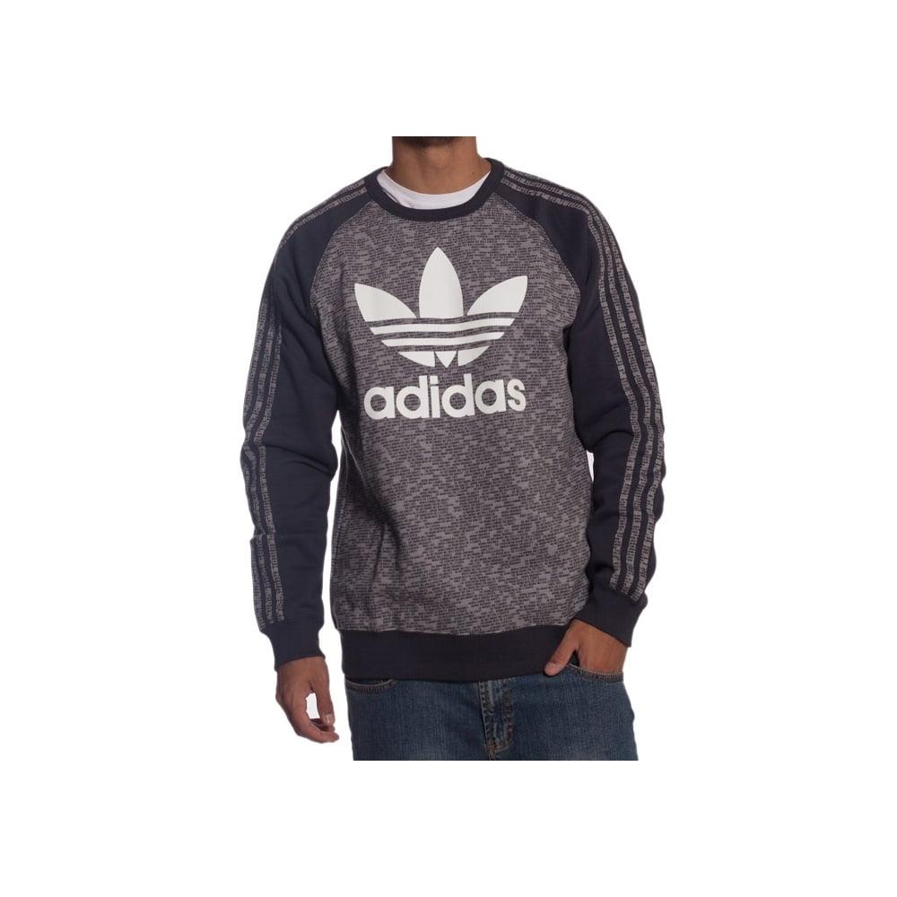 best service feb99 ab0e3 adidas originals Sweatshirt  Es Crew Aop GR