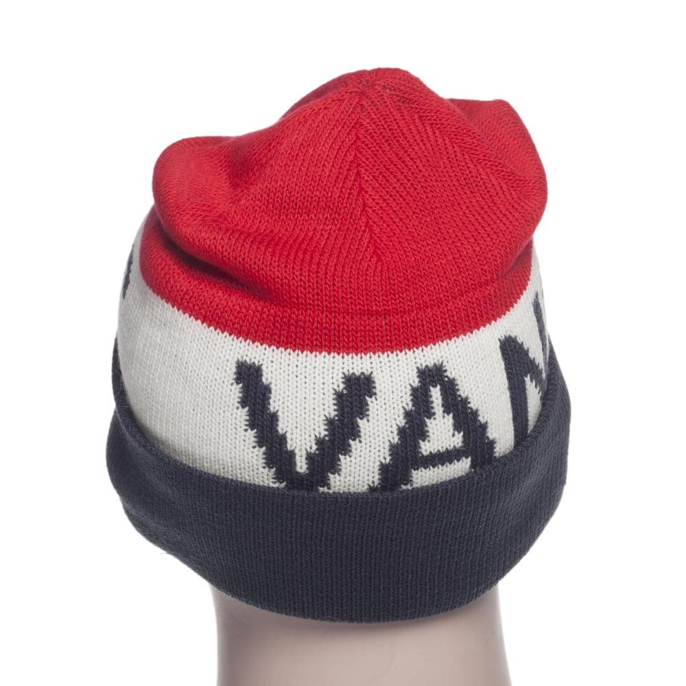 2edb856e Vans Beanie: M Vans Stitch Beanie NV/WH/RD | Buy Online | Fillow ...