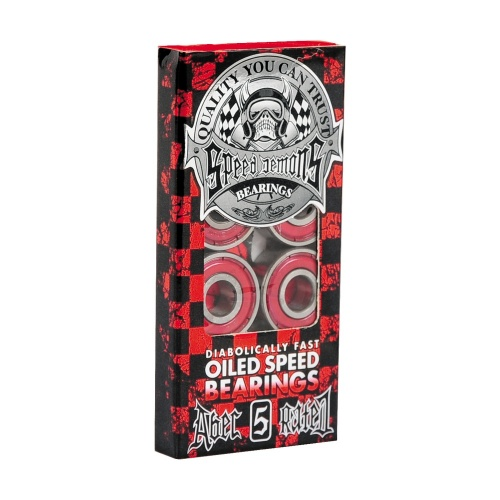 Speed Demons Bearings: Abec 5 Red