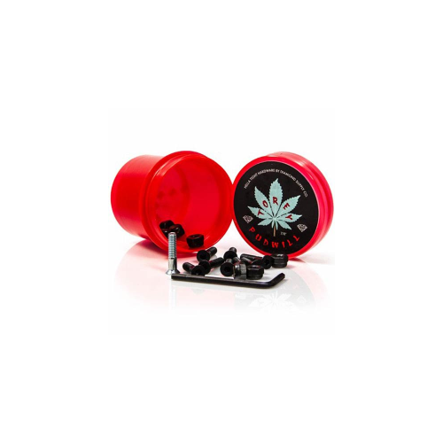 "Diamond Bolts: Hella Tight Hardware Torey Pudwill 7/8"" Red"