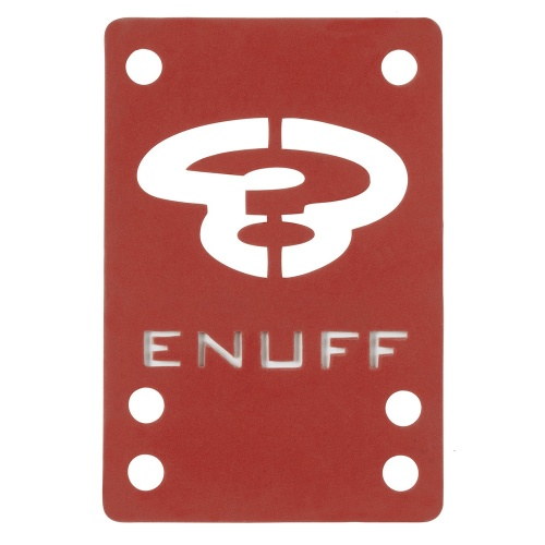 Enuff Pads: Shock Pads Red