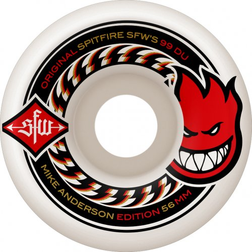 Spitfire Wheels: Anderson SFW (56 mm)