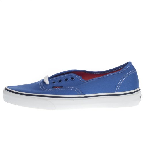 Vans Shoes: Authentic Pop Strong Blue/Nasturtium BL