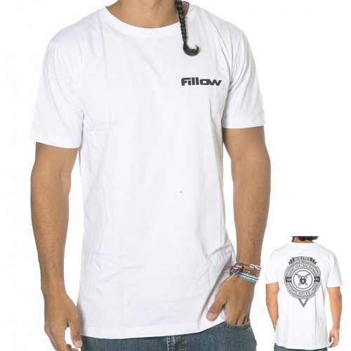 BDskateCO T-Shirt: Fillow Tee WH