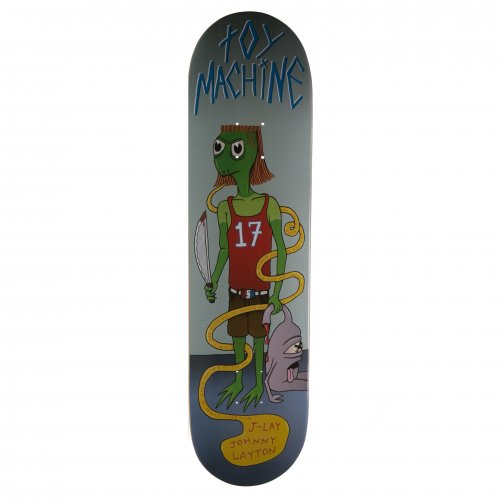 Toy Machine Deck: Layton Ginger Mullet 8