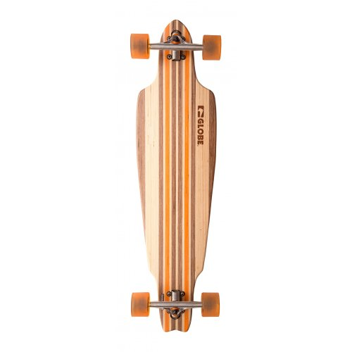 Globe Longboard: Prowler V-Ply Natural/Orange