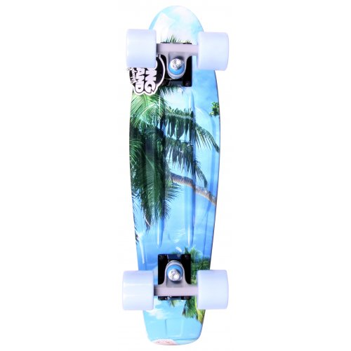 Long Island Skateboard Cruiser: Buddie 15B LI All Over Sand 22.5""