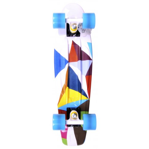 Long Island Skateboard Cruiser: Buddie 15B LI All Over Future 22.5""