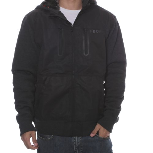 Fox Racing Jacke: Marauder Sasquatch Zip Fleece BK