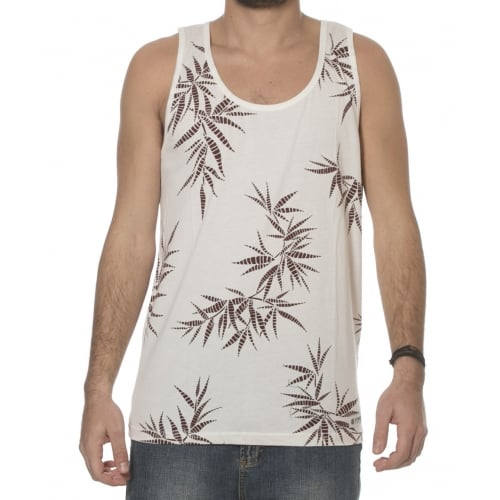 Element Tank-Top: Benton Bone White BG