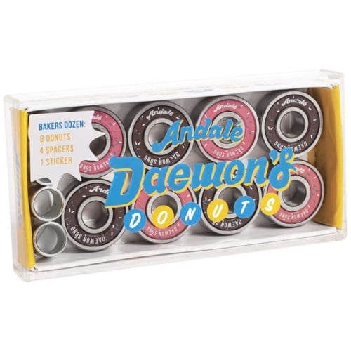Andale Bearings: Daewon Song Donut Box