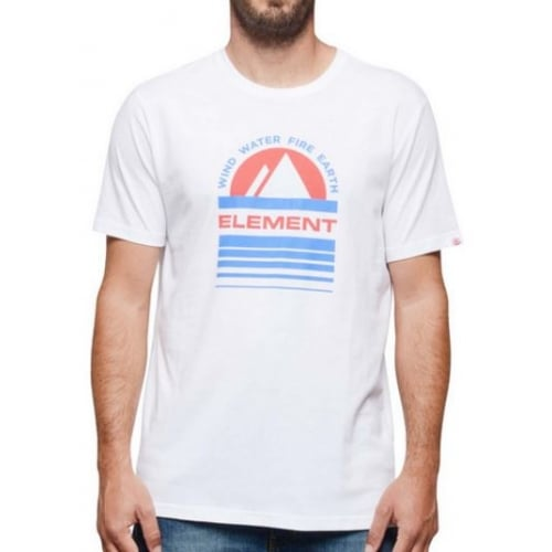 Element T-Shirt: Optic Apex SS WH
