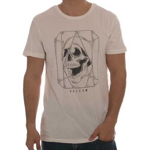Volcom T-Shirt: Ghost LW SS Egg WH