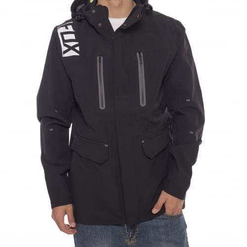 Fox Racing Jacket: Flexair Jacket BK