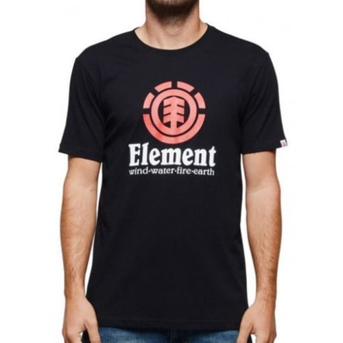 Element T-Shirt: Vertical SS Flint BK
