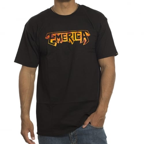 Emerica T-Shirt: Burner BK