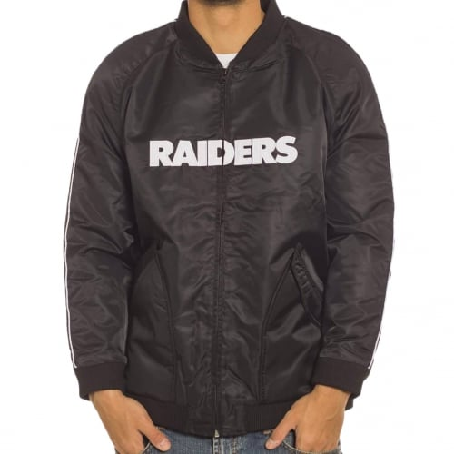 Majestic Jacket: Soft Touch Varsity Riders BK