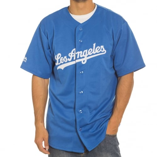 Majestic Shirt: MLB Replica Jersey LA Dodgers BL