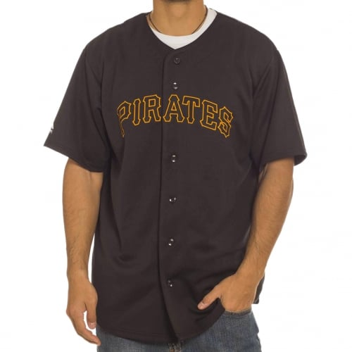 Majestic Shirt: MLB Replica Jersey Pirates BK
