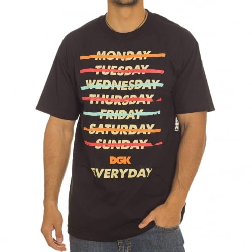 DGK T-Shirt: Every Day BK