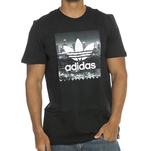adidas originals T-Shirt: NY Photo Tee BK