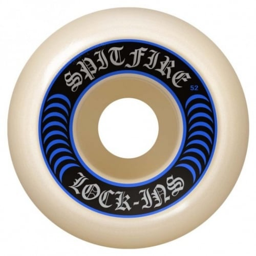Spitfire Wheels: F4 99D Lock Ins (52 mm)