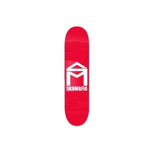 SK8 Mafia Deck: House Logo Red 8.0