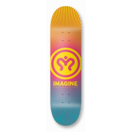 Imagine Skateboards Deck: Sunrise 8.2