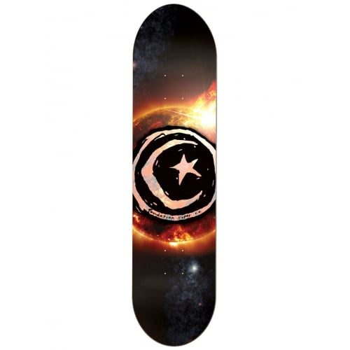 Foundation Skateboards Deck: Star & Moon Sun Flare 8.2