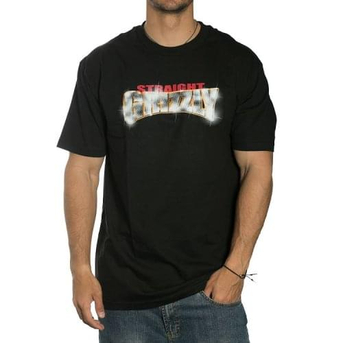 Grizzly T-Shirt: Straight Grizzly BK