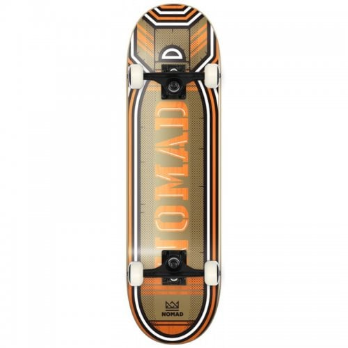 Nomad Commplete Skate: Bomb Orange 8.25