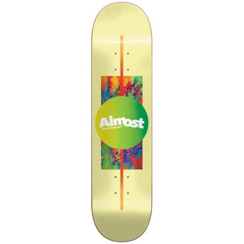 Almost Deck: Gradient Yellow HYB 7.5