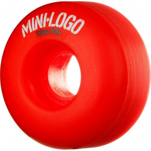 Mini-Logo Skateboards Wheels: C-Cut Red (53 mm)