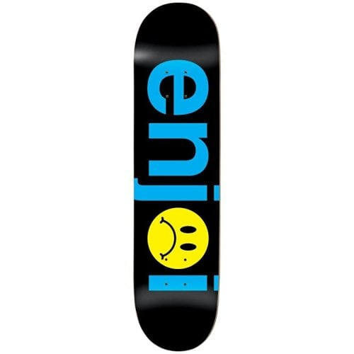 Enjoi Deck: Frowny Face No Brainer HYB 8.0