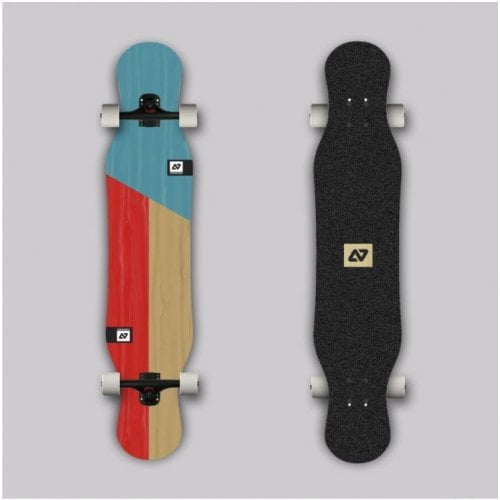 Complete Longboard Hydroponic: Pixie Cut Ply Bolzen 43,5 x 9,05