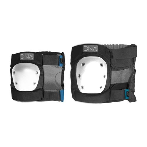 DNA Protective Gear: Classic Knee & Elbow Pack BK/WH