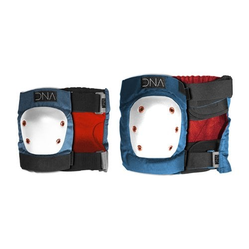 DNA Protective Gear: Blue Knee & Elbow Pack BL